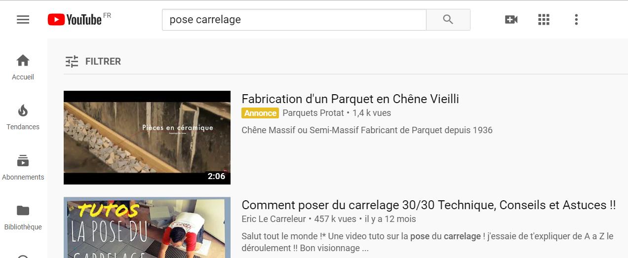 annonce vidéo discovery google ads